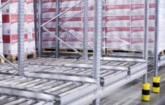 Solutii depozitare pentru fluxul de paleti