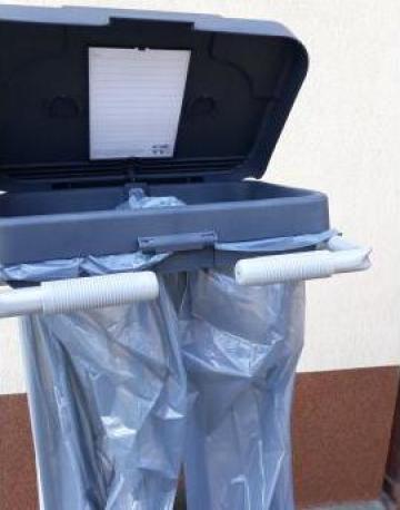 Carucior cu sac transport lenjerie de la Tehnic Clean System