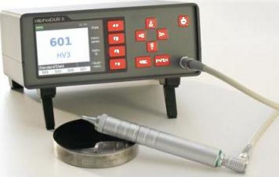 Durimetru cu ultrasunete Alphadur II de la Kimet Srl