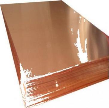 Table cupru industriale Cu-DHP si Cu-ETP de la Electrofrane