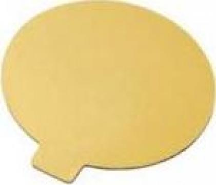 Monoportie carton auriu 12cm de la Cristian Food Industry Srl.