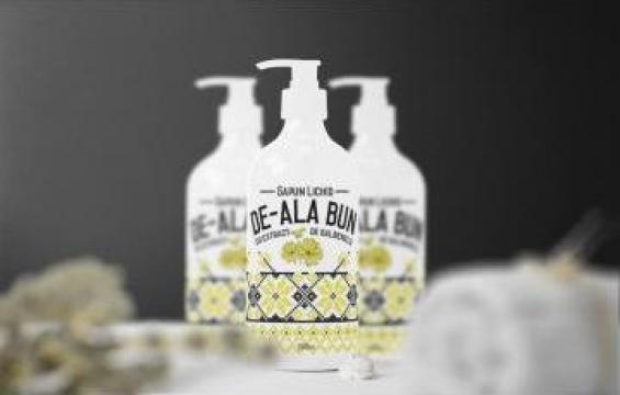 Sapun lichid De-ala bun 500 ml de la Best Distribution Srl