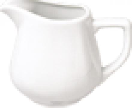 Cana pentru lapte din portelan 150cc colectia Mars de la Basarom Com