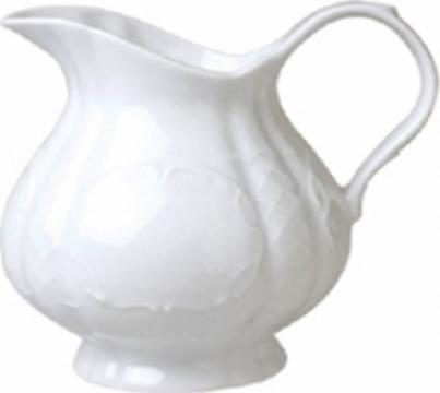 Cana pentru lapte din portelan 100cc colectia Flora de la Basarom Com