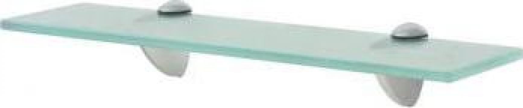 Raft suspendat din sticla, 40 x 10 cm, 8 mm
