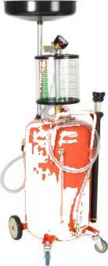 Rezervor decantare ulei uzat, 70 litri, rosu de la Vidaxl