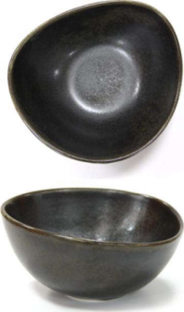 Ramekin portelan 9cm Antique Black de la Basarom Com