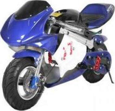 Jucarie mini motocicleta electrica copii Nitro Eco Pocket