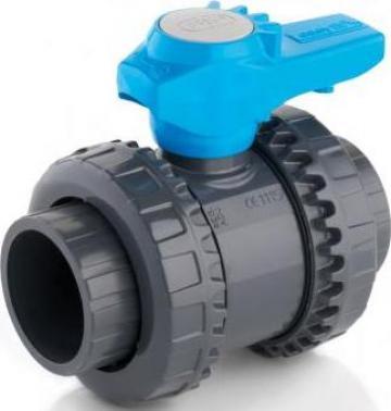 Robinet cu bila VEE Easyfit DN10 - DN50 de la Weldplast Technology Srl
