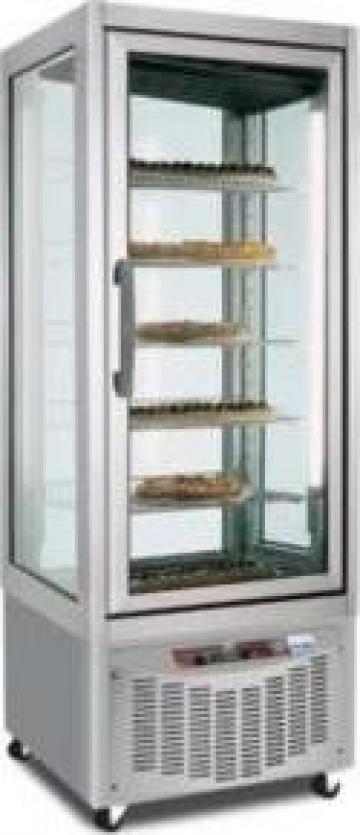 Vitrina verticala cofetarie / gelaterie toate fetele vitrate de la Mischel Leonardo Srl.