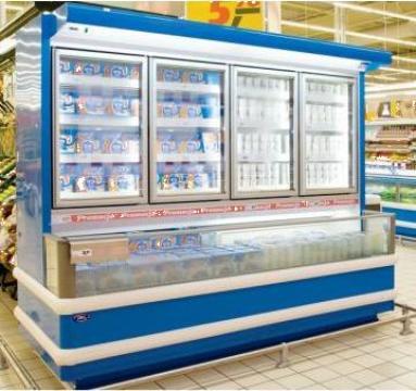 Vitrina pentru produse congelate de la Interfrig Ploiesti