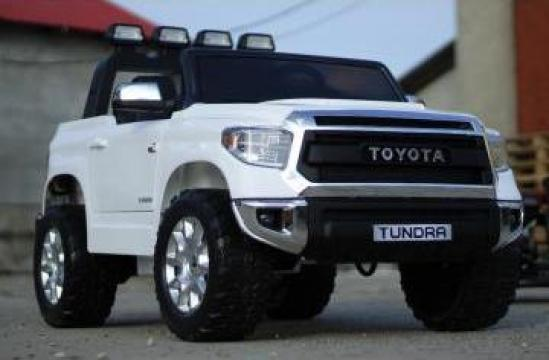 Jucarie masina electrica Toyota Tundra 2x45W 12V cu roti moi de la SSP Kinderauto & Beauty Srl