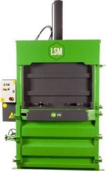 Presa verticala de balotat LSM - V50 de la Ad Stil Equipments Srl