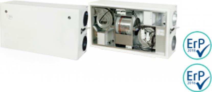 Unitate de ventilatie Ensy AHU 300 HH/HV de la HausEnergy Srl