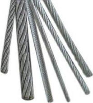 Cablu de tratiune inox 7x19 AISI 316 de la Electrofrane