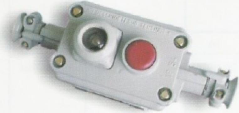 Cutie de comanda antiex 7005 cu 2 butoane pentru pornire de la Global Electric Tools SRL