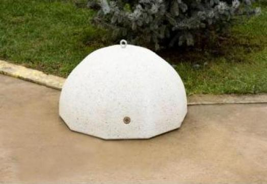 Bolard / scaun din beton LED 85
