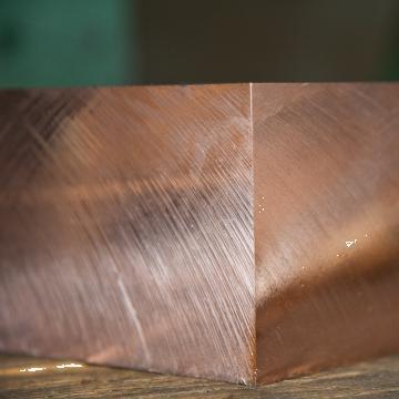 Placa cupru 200mm tabla debitata Copper plate aluminiu