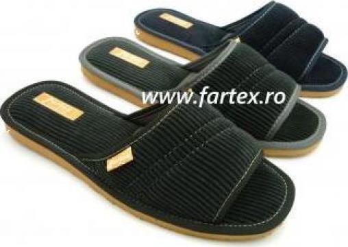 Papuci de casa barbati de la Fartex Collection Srl