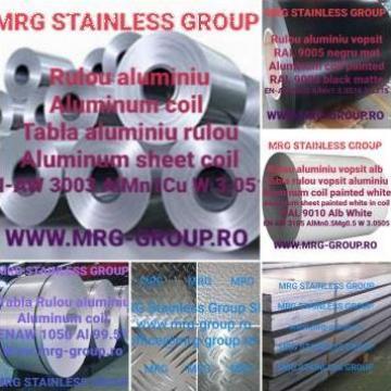 Tabla aluminiu Stucco gofrata coaja de portocala coala stuco de la MRG Stainless Group Srl