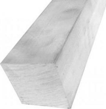 Bara aluminiu patrata 50x50mm EN 6060 T6 AlMgSi1 inox alama de la MRG Stainless Group Srl
