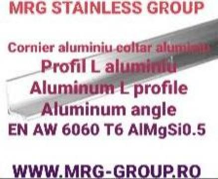 Cornier aluminiu 15x15x1.5mm, coltar L aluminiu