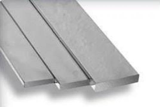 Platbanda aluminiu 100x10mm EN-AW 6082 bara dreptunghiulara