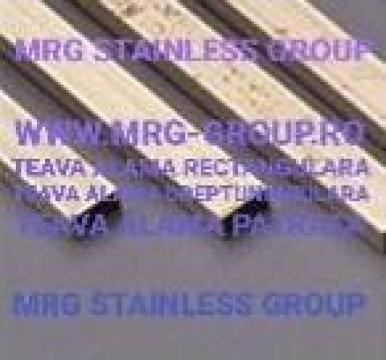 Teava alama dreptunghiulara 25x10mm rectangulara de la MRG Stainless Group Srl