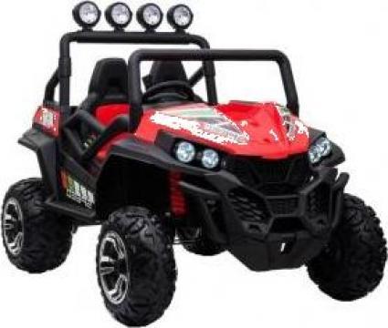 UTV electric pentru copii Golf-Kart S2588 180W Premium #rosu
