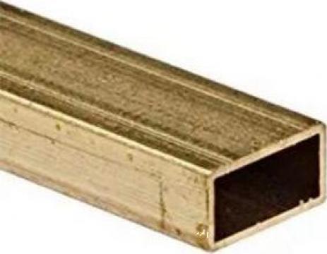 Teava alama rectangulara 30x10x1.5 dreptunghiulara aluminiu