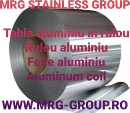 Tabla aluminiu rulou 0.05x1000mm, rulou aluminiu, inox
