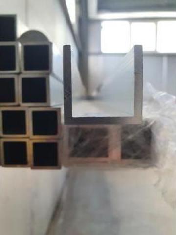 Teava aluminiu patrata 20x20x2mm