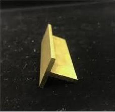 Profil alama 40x40x3 bara T teu alama, aluminiu, inox, cupru