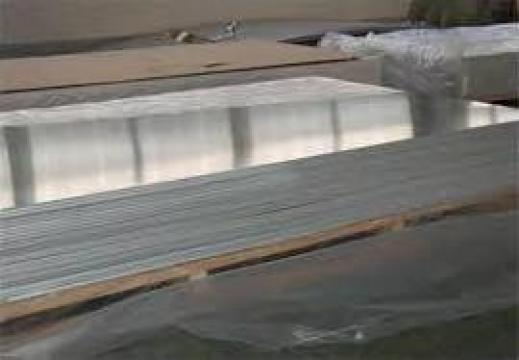 Tabla aluminiu lisa 0.5mm EN-AW 1050A Al 99.5 alama, cupru