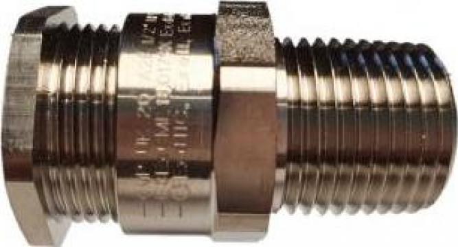 Presetupa metalica Atex 1/2 NPT cablu nearmat de la Sc Rolec Electric Industry Srl