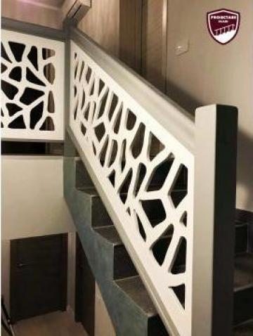 Balustrada perforata din MDF