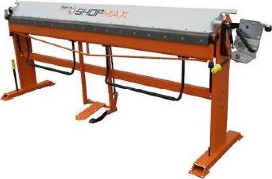 Abkant manual cu masa basculanta Shopmax 2500/0.8 de la Proma Machinery Srl.