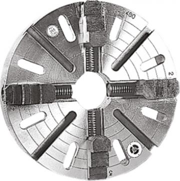 Flansa cu 4 bacuri independente, 250 mm ZMM de la Proma Machinery Srl.