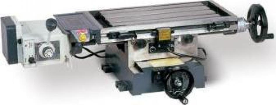 Masa cu deplasare in cruce si avans automat PSP-420 de la Proma Machinery Srl.