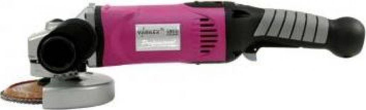 Masina slefuit unghiular Varilex WSF 1800 de la Proma Machinery Srl.