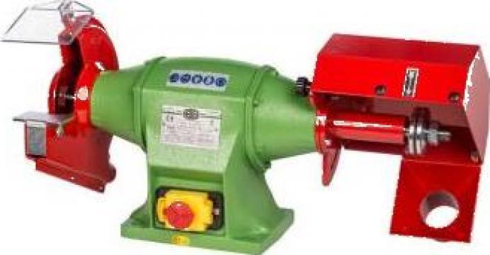 Polizor de banc combinat cu perie si disc 200 mm C-2 de la Proma Machinery Srl.