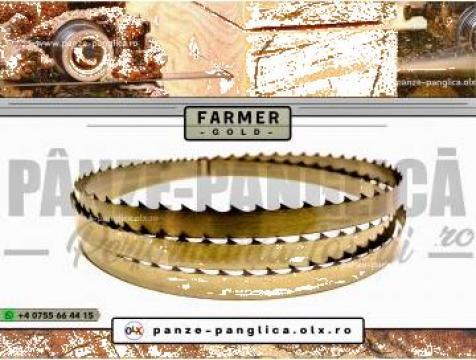 Panza panglica banzic Farmer 4900x40x1 I Lemn I Premium Gold de la Panze Panglica Srl