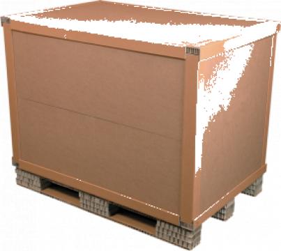 Container din hartie de la Eur Paleti Srl