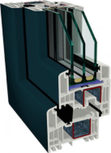Tamplarie PVC Gealan S 9000 de la Window Solution Srl