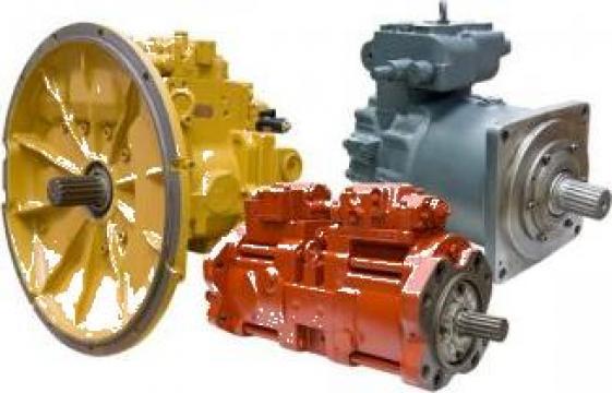 Pompe hidraulice utilaje Kawasaki de la Terra Parts & Machinery Srl