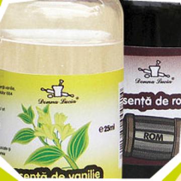 Esenta vanilie si rom de la Donna Lucia