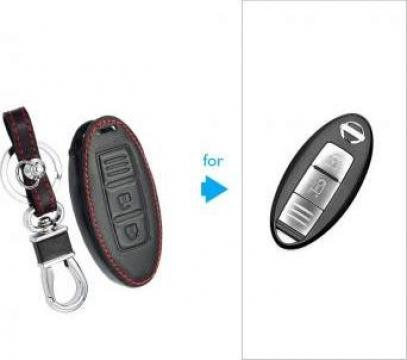 Husa cheie Nissan Qashqai J10 J11 X-Trail t31 t32 kicks de la Caraudiomarket.ro - Accesorii Auto Dedicate