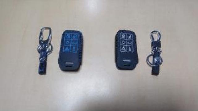 Protectie cheie Volvo S60 S80 V60 XC60 XC70 S60L V40 de la Caraudiomarket.ro - Accesorii Auto Dedicate