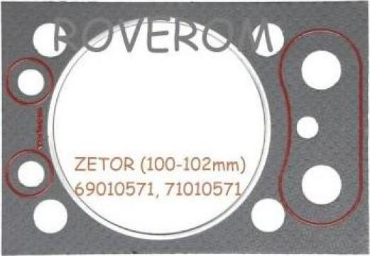 Garnitura chiuloasa Zetor 5011 5211 5245 6011 6211 6245 7011 de la Roverom Srl
