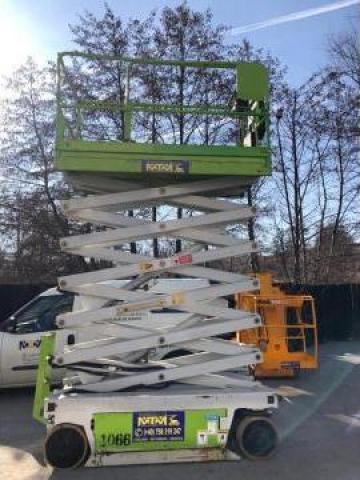 Nacela electrica foarfeca 14 metri de la M.T.M. Boom Service